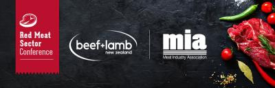 Red meat sector conference banner