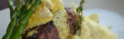Image of steak meal