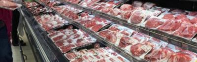 Supermarket meat