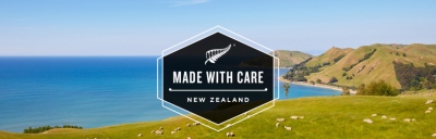 Made with care banner